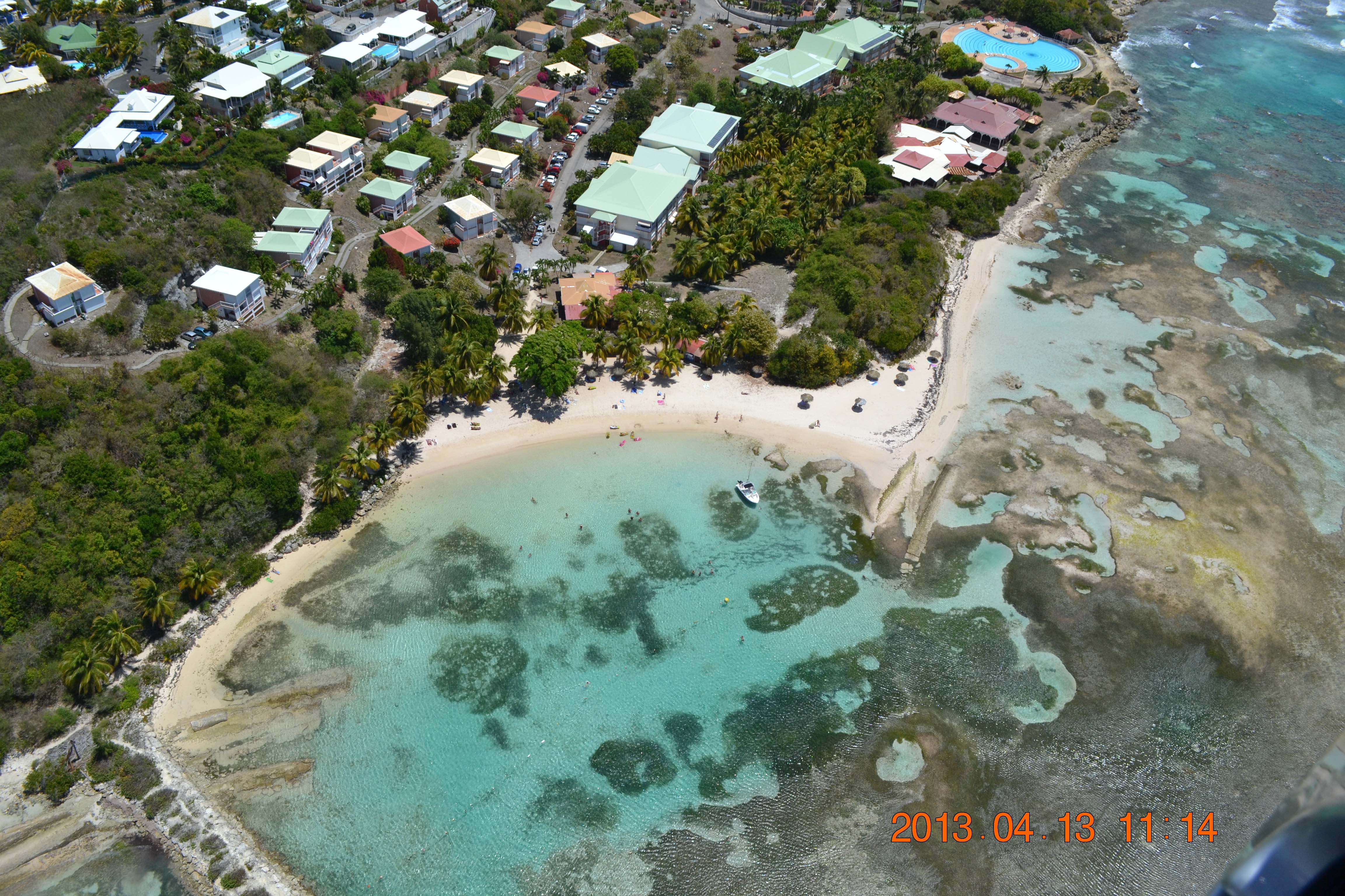 anse des rochers anchorage guadeloupe